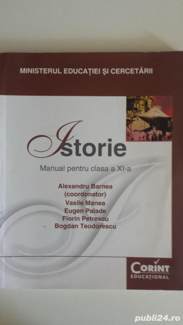 Manuale pentru Clasa a-11-a, profil real