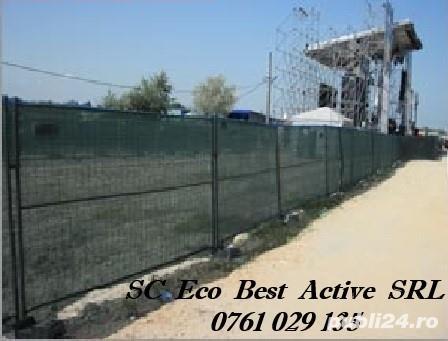 Inchirieri Garduri Mobile - Panou Mare (3,5x2m) - Corbeanca, Ilfov
