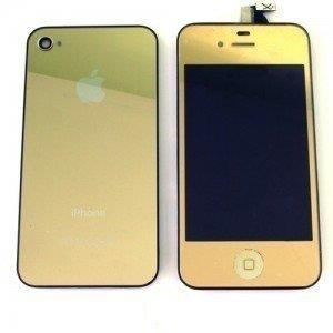 Display Iphone 4|4s gold, auriu.