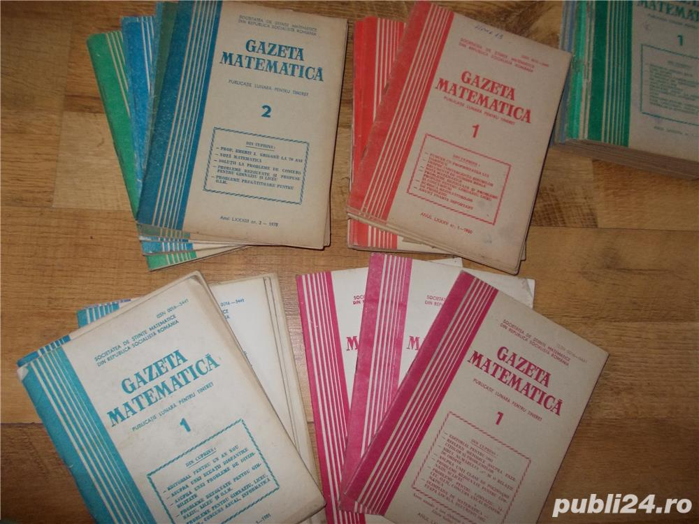 gazeta matematica 1978-1984