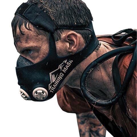 masca antrenament 2.0, cardio gym fitness training mask 2.0