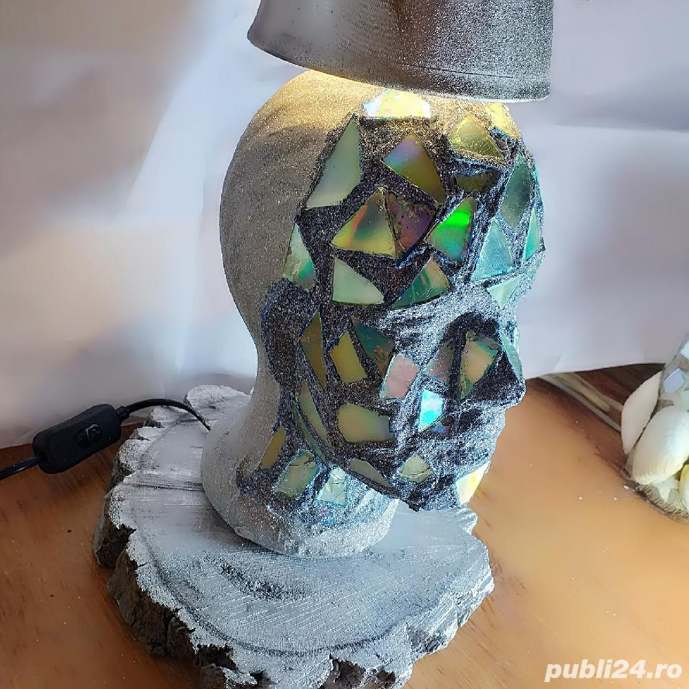 Lampa statuie/cap manechin lux!