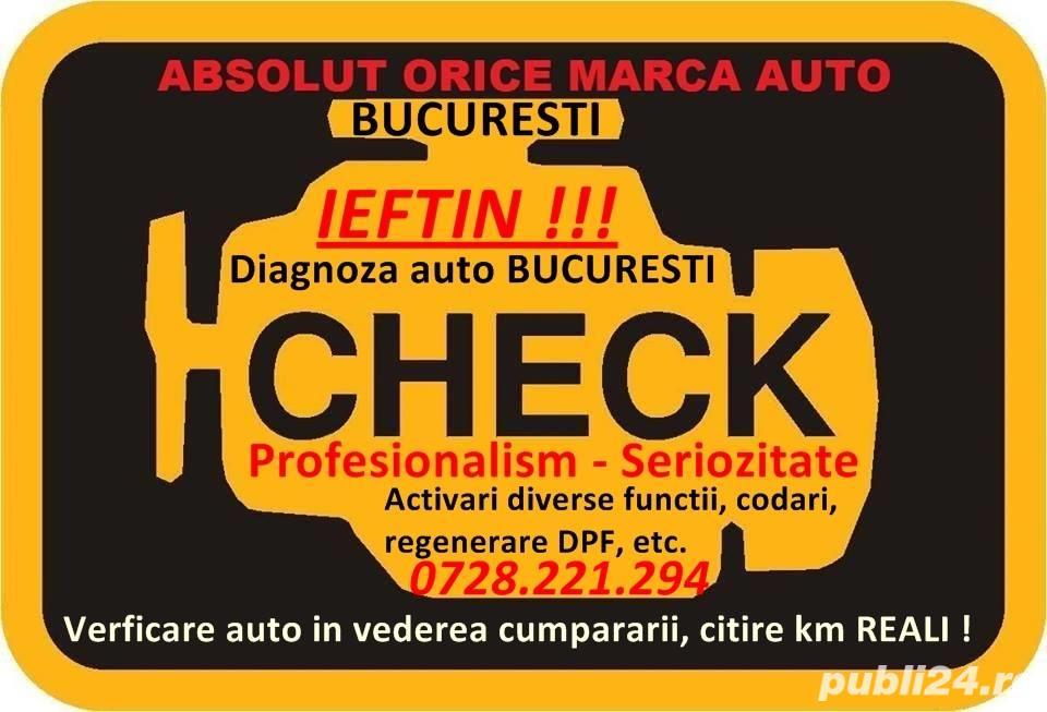 Diagnoza auto Bucuresti vw audi seat skoda opel ford dacia renault peugeot nissan etc - 0728.221.294