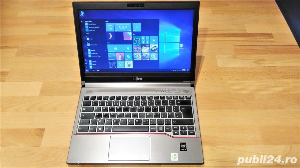 Ultrabook Fujitsu E734 Business i5 4300M SSD-Hibrid 500GB 8Gb Ram