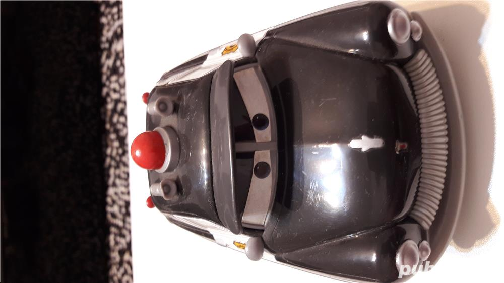 Colectie Disdey/Pixar,masina Sheriff,plastic rezistent,gri inchis,
