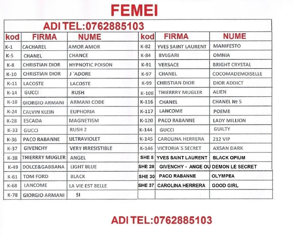Eyfel Parfum Romania Sector 4 Moda Si Accesorii Publi24ro