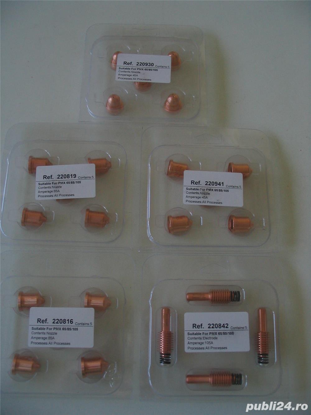HYPERTHERM Powermax 65-85-105 : consumabile (electrozi, duze, capete de protectie etc.)
