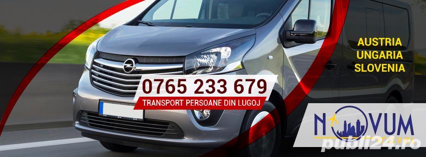 Transport persoane din Lugoj oriunde in Austria, Ungaria, Slovenia la domiciliu