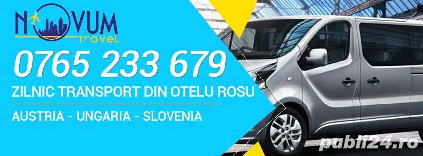 Transport persoane din Otelu Rosu oriunde in Austria, Ungaria, Slovenia la destinatie
