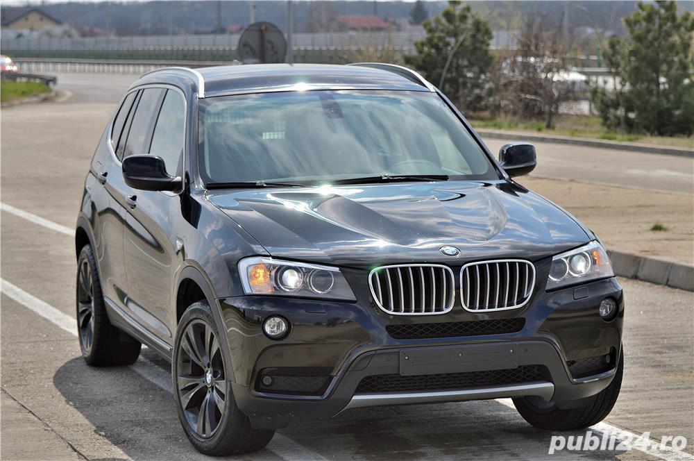 BMW X3 F25 3.0d XDrive 4x4, Automat 8+1 304cp(Stage1),An 2012, Km REALI 210.000,Proprietar,Impecabil
