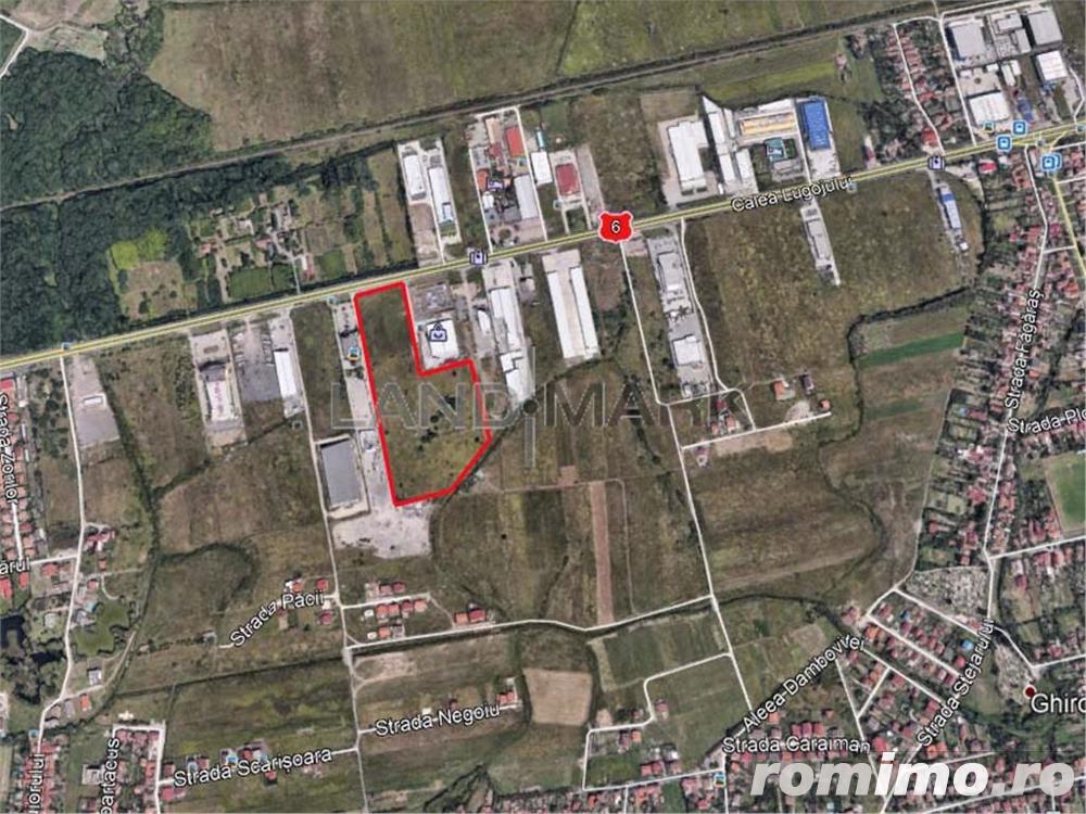 Teren comercial industrial de vanzare pe Calea Lugojului