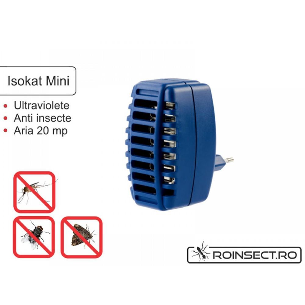 Isokat mini, aparat antiinsecte pentru priza-resigilat