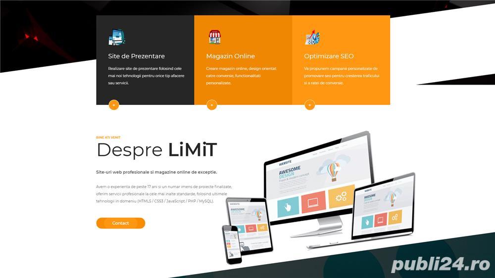 Oferim Servicii de Web Design Profesional [Magazine Online, Site-uri de Prezentare, Promovare SEO]