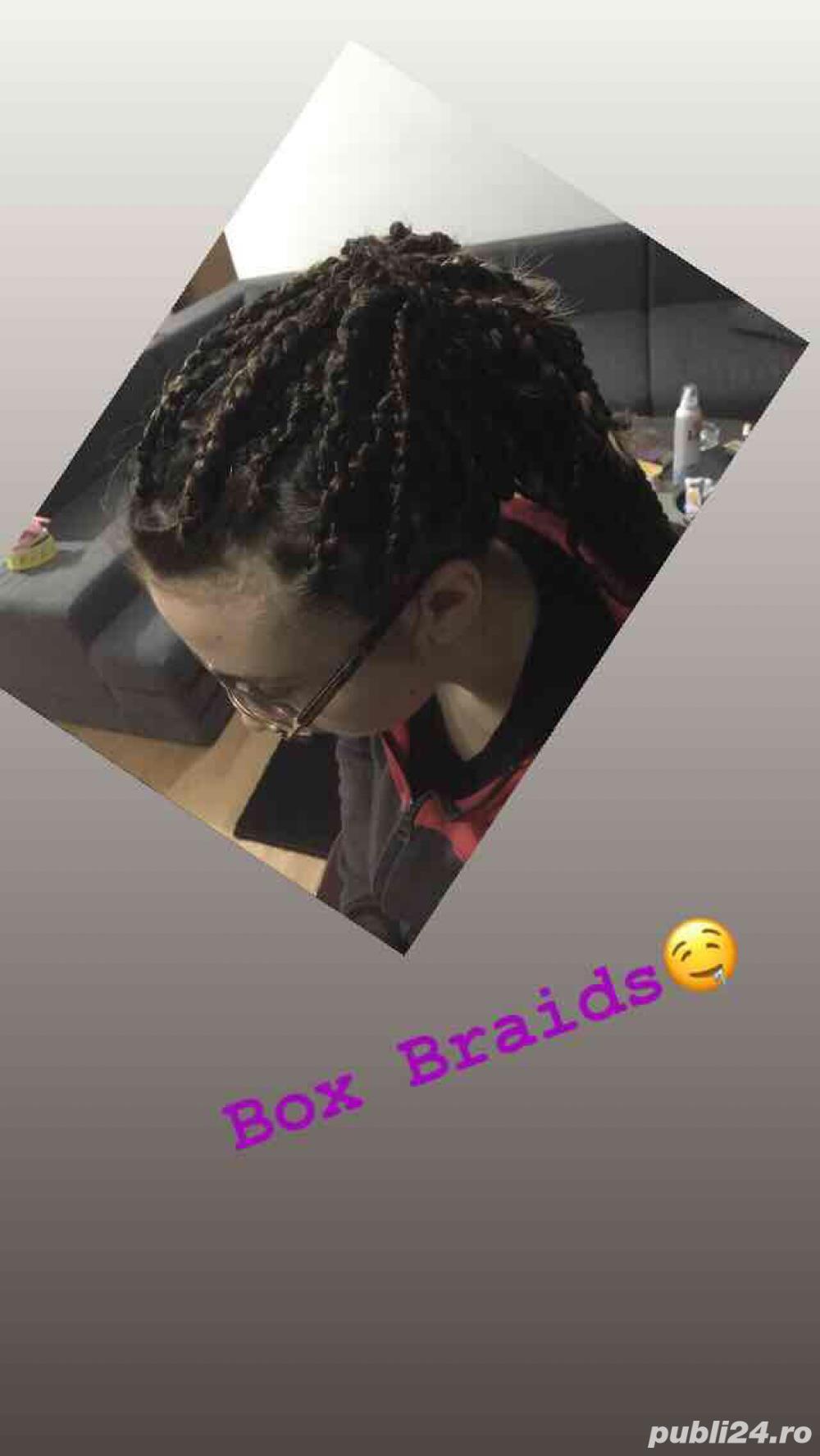 Box Braids si dreduri semi