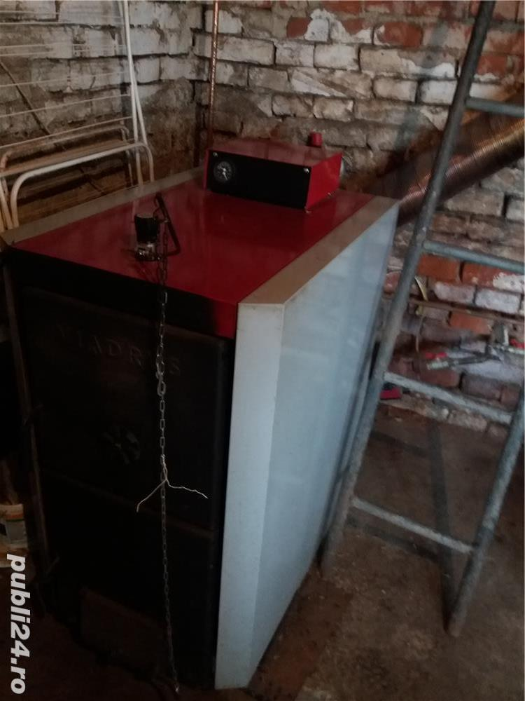 Centrala termica pe lemn Viadrus 35 KW
