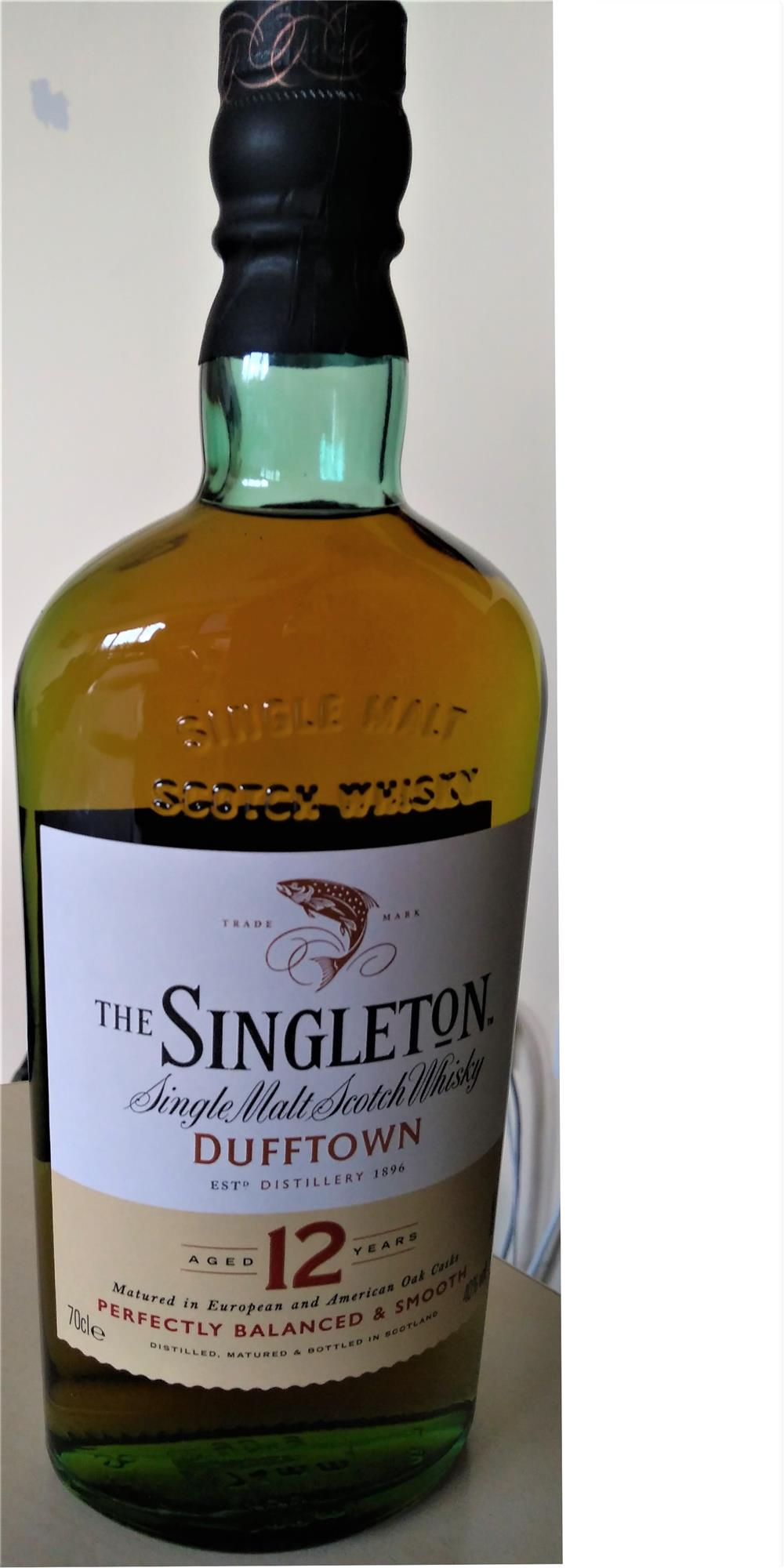Singleton of Dufftown - single malt scotch whisky