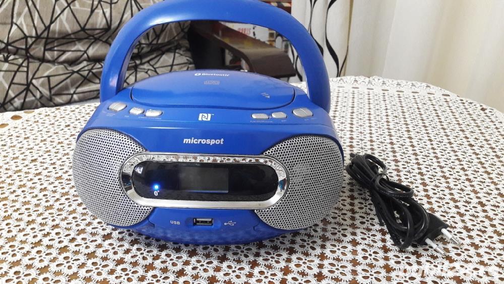 Microspot MCD 352 bluetooth nfc usb mp3