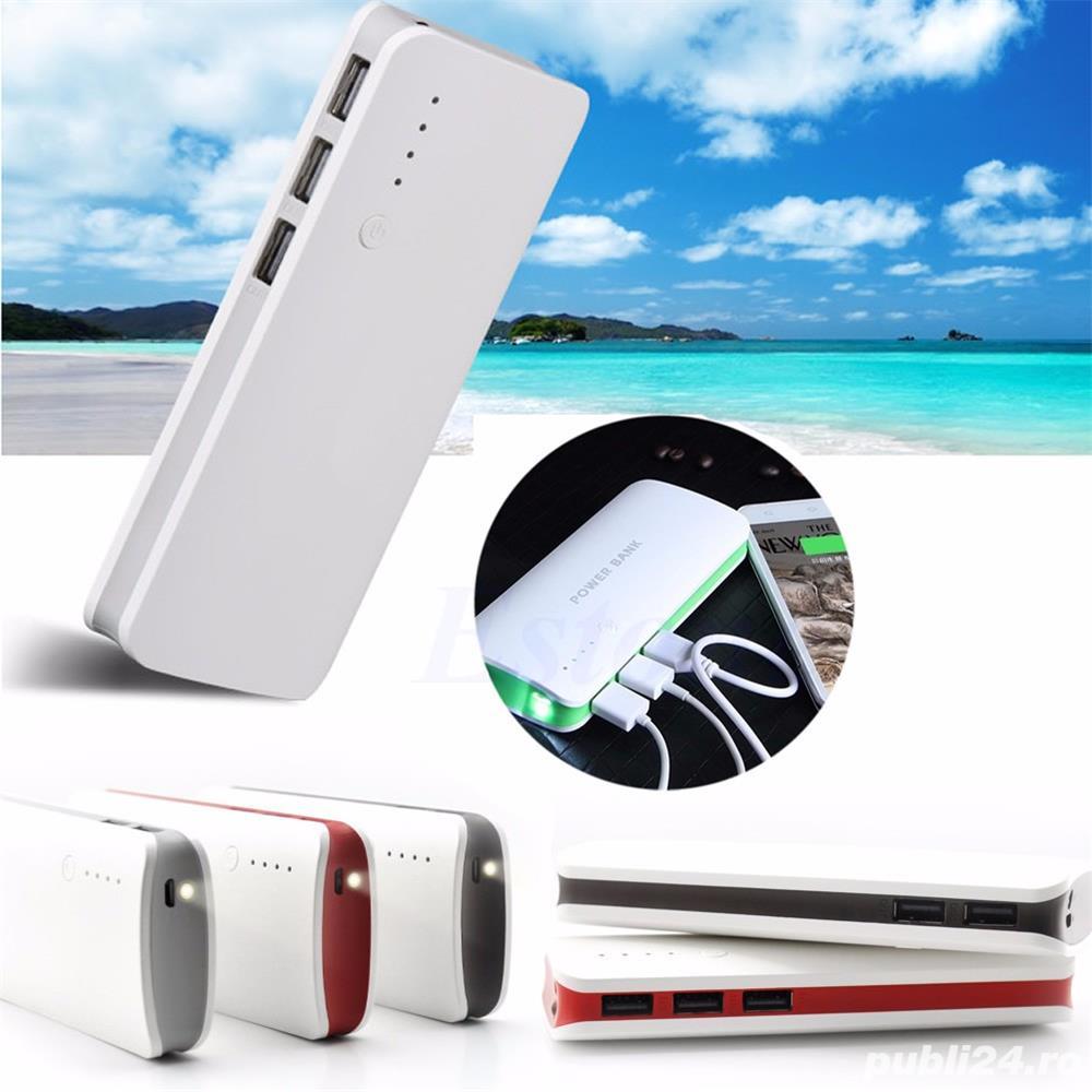 Baterie Externa Power Bank 20000 mah Baterie Urgenta Cu 3 USB Pentru  Telefoane C24 Campina - Electronice - Publi24.ro