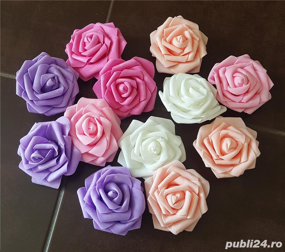 Trandafiriflori Artificiale Pentru Panouri Buchete Si Aranjamente
