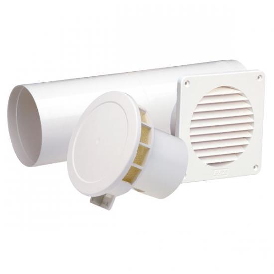 Sistem ventilatie naturala cu termostat , pt bucatarie