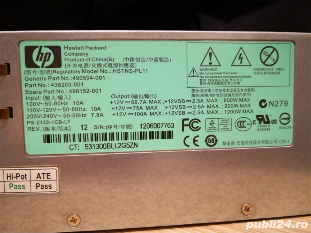 Sursa server HP HSTNS-PL11 1200W