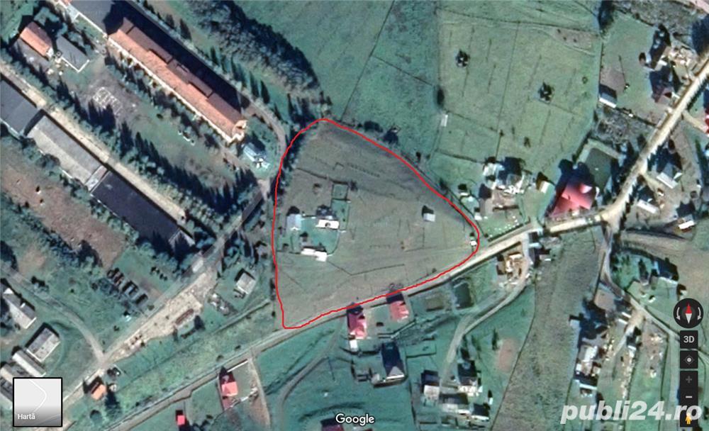 Vand/schimb teren in localitatea Vatra Dornei, judetul Suceava
