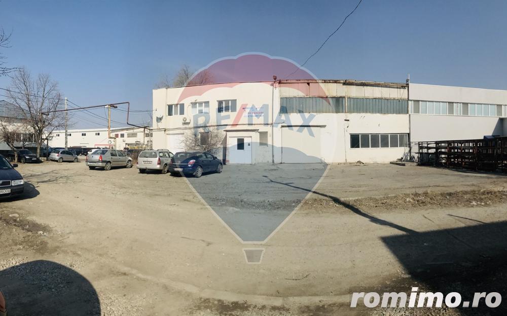 Spațiu productie/depozitare 454 mp zona industriala
