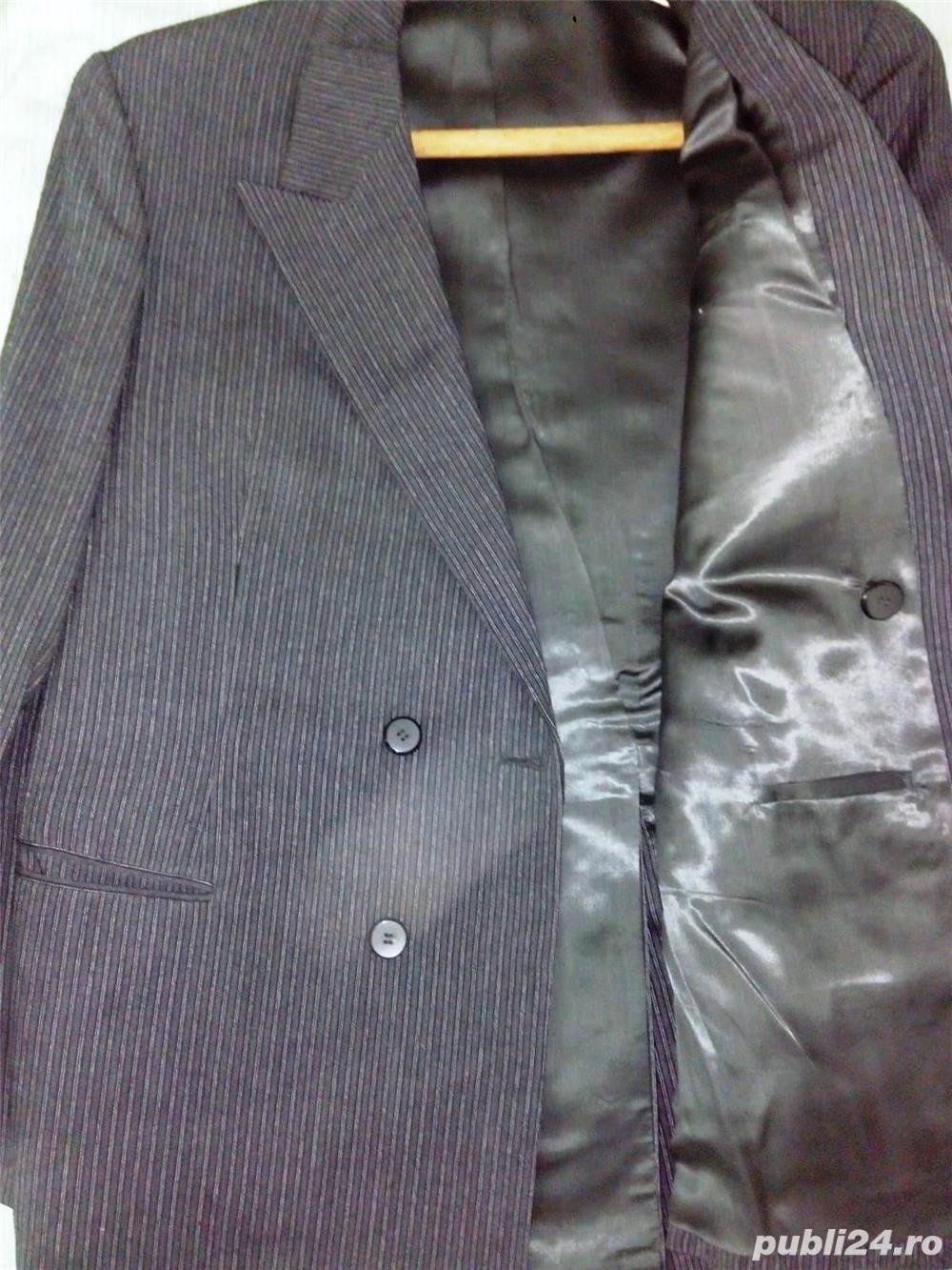 Vand costum nou-nout,elegant,lana pura=0727809907