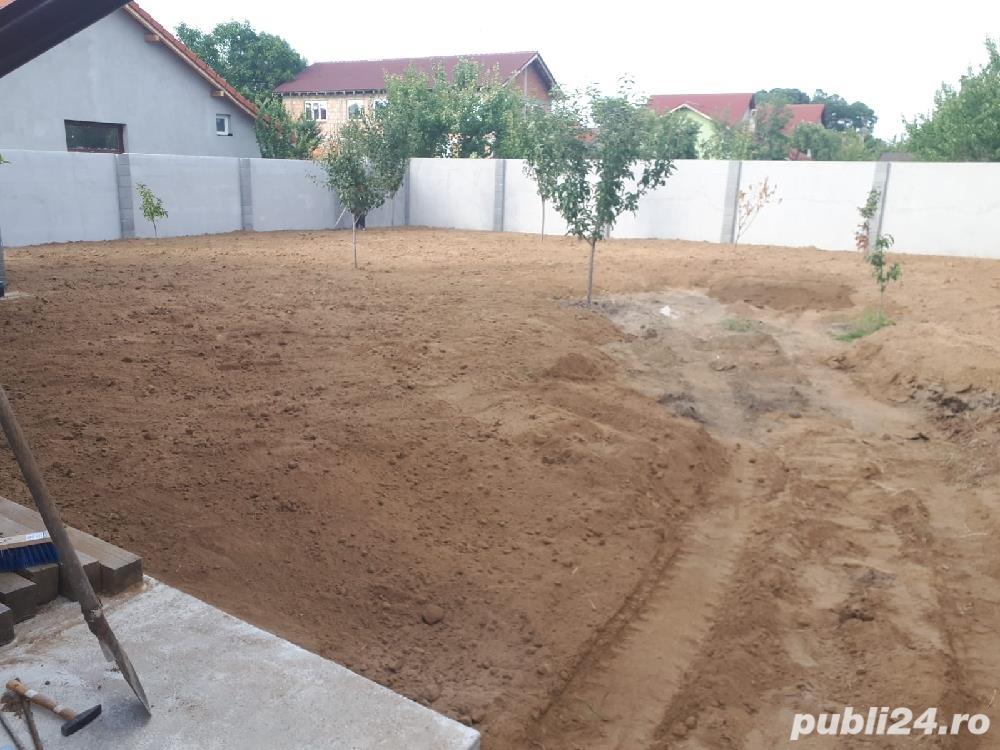 Pămînt vegetal & nisipos