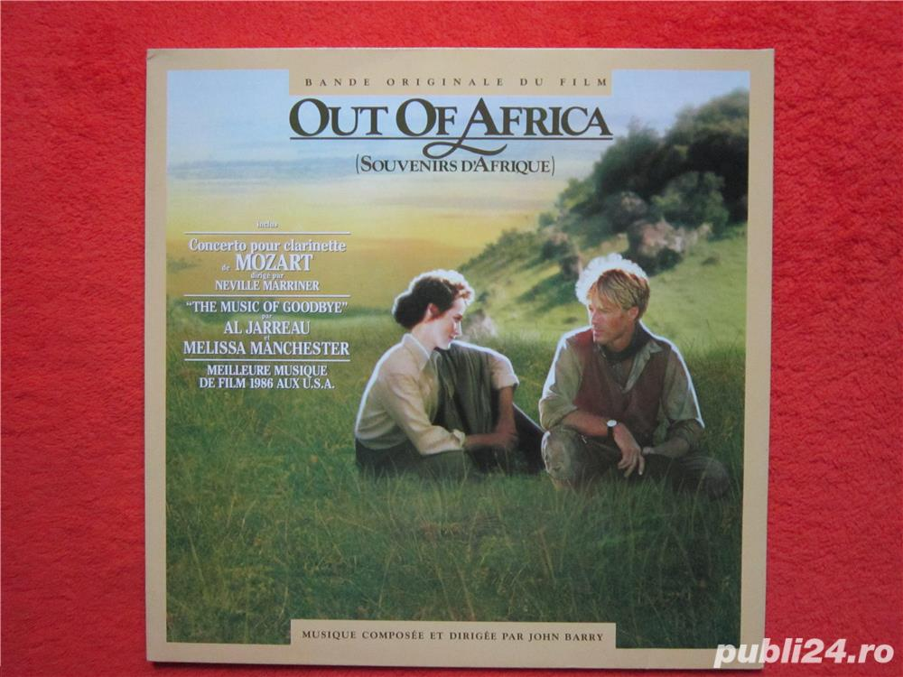 vinil John Barry ‎- Out Of Africa -Soundtrack (impecabil)
