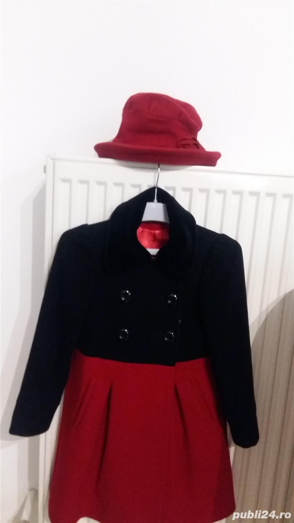 Vanzare palton fata 5-8 ani