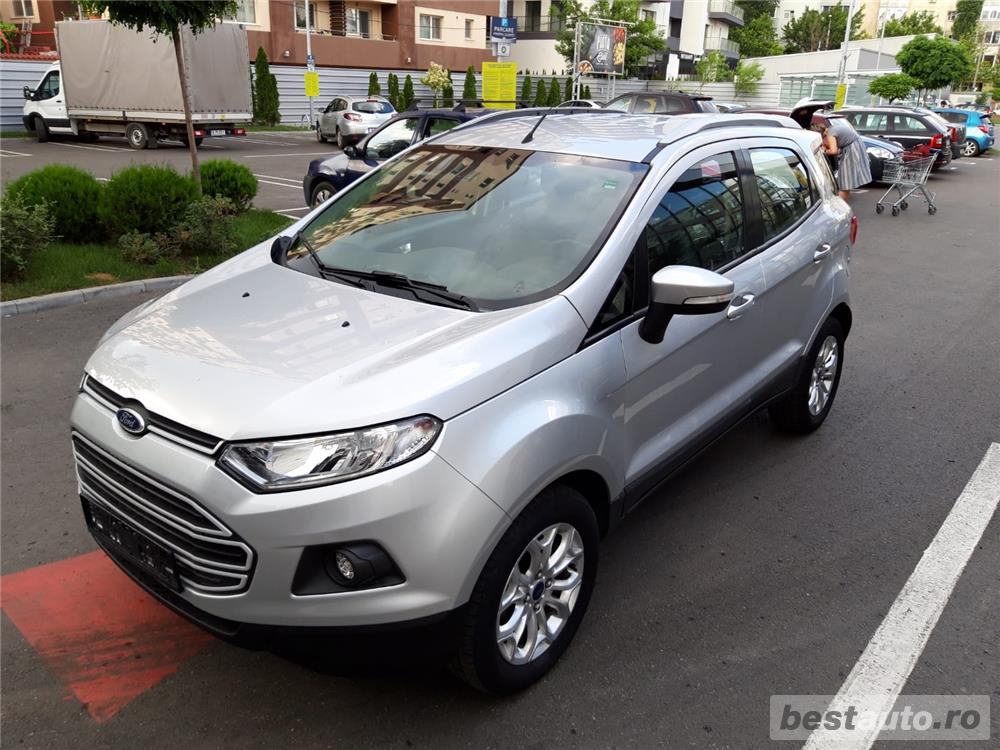 Ford Ecosport 1.5 tdci 2016 Business - 112.552 km Diesel - Manual - 95 cp - 115 g/km - EURO  6