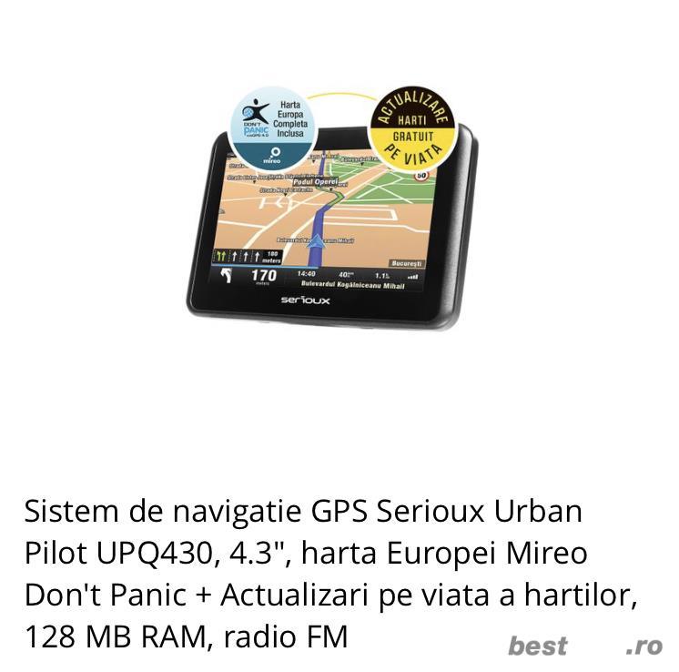 Vand sistem de navigație GPS