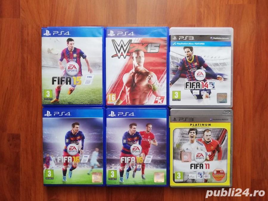 Vand / schimb jocuri originale PS4 si PS3