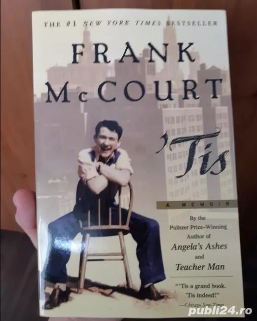 Tis a memoir - Frank Mc Court
