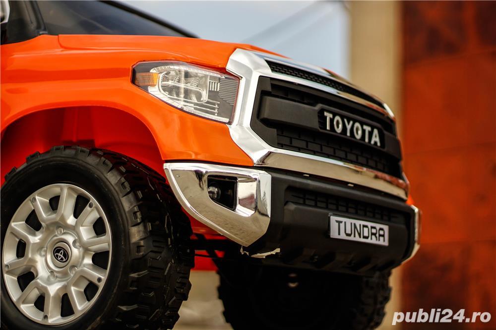 Masina Toyota Tundra 2x45W 12V 7Ah PREMIUM, Scaun tapitat, ROTI MOI #Orange
