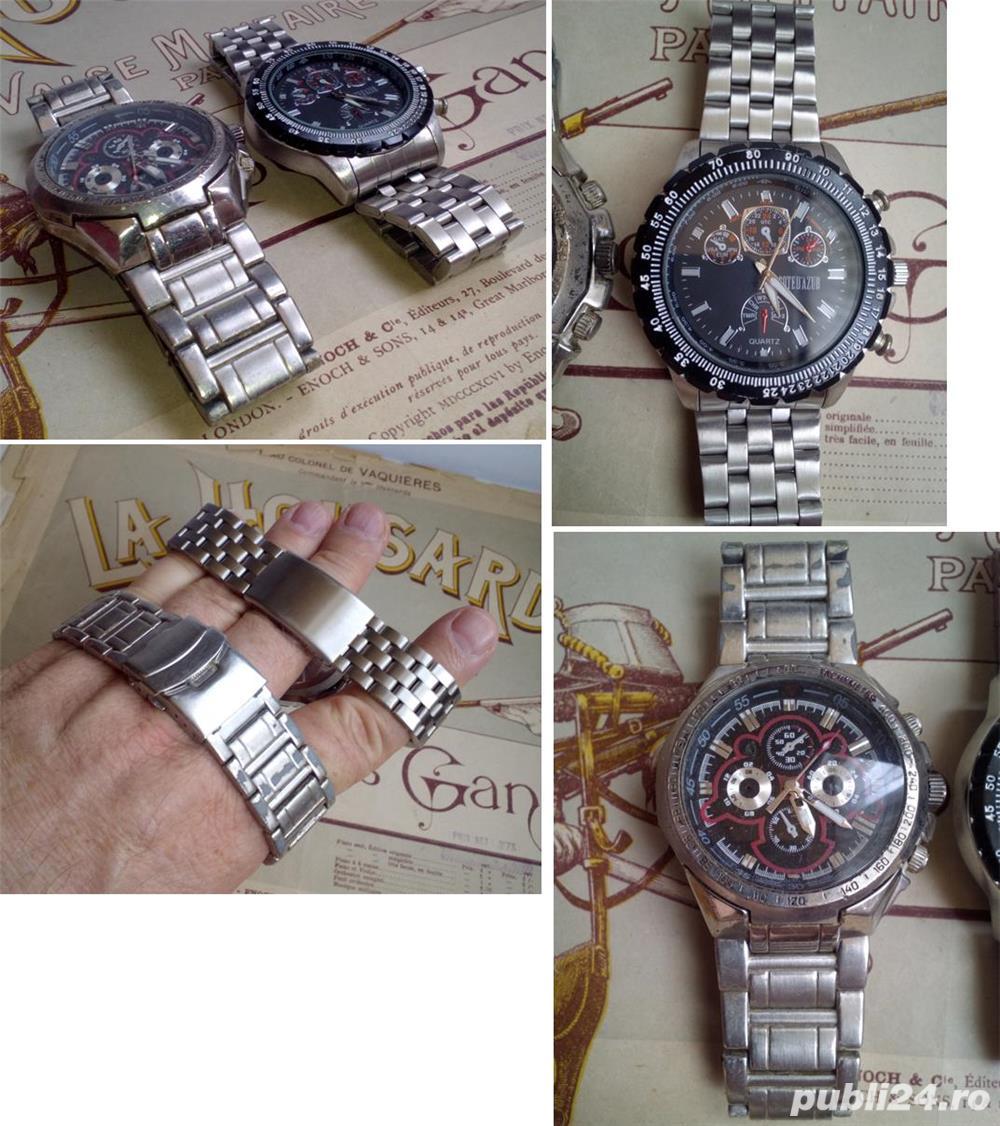2 ceasuri bărbăteşti, masive, stare bună, funcţionale