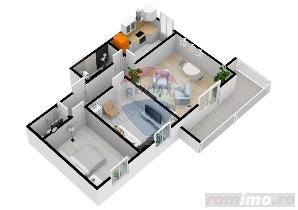 Apartament cu 3 camere   61,6 mpu   Selimbar   COMISION 0%