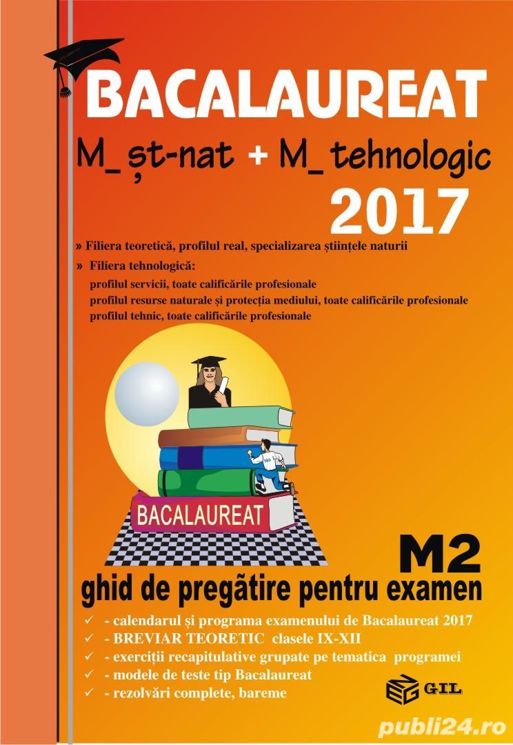 Carti de matematica- ghid de pregatire pentru examen
