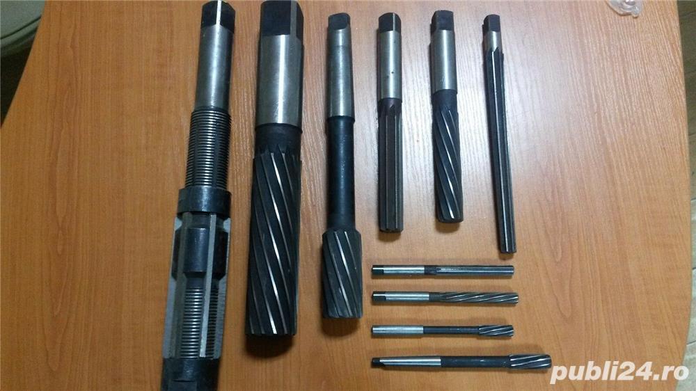 Alezoare de caliate noi de la Ø 3 la Ø 32 mm. Romanesti si germane, cilindrice si conice