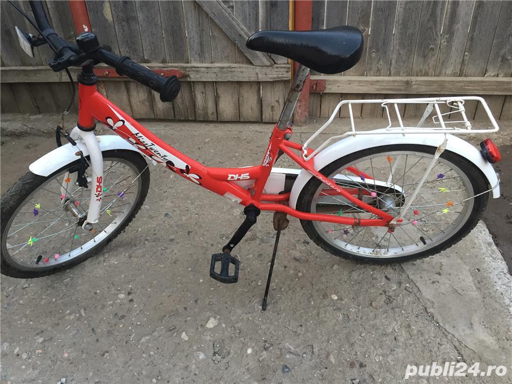 """Bicicletă copii 21"""" nouă"""
