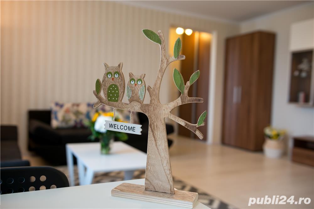 Regim hotelier: apartament cu 2 camere, amenajari lux, zona Girocului (Str.Mures)