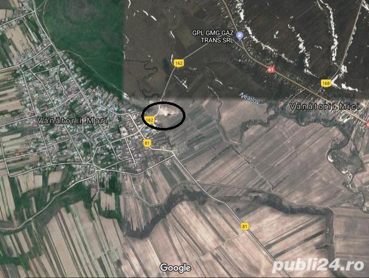 terenuri  intravilan comuna Vanatorii Mici Jud Giurgiu