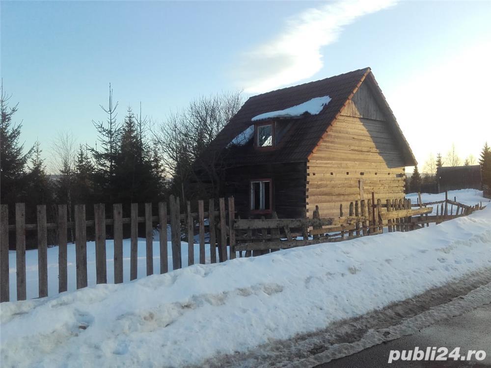 Cabana in lucru cu teren in Belis