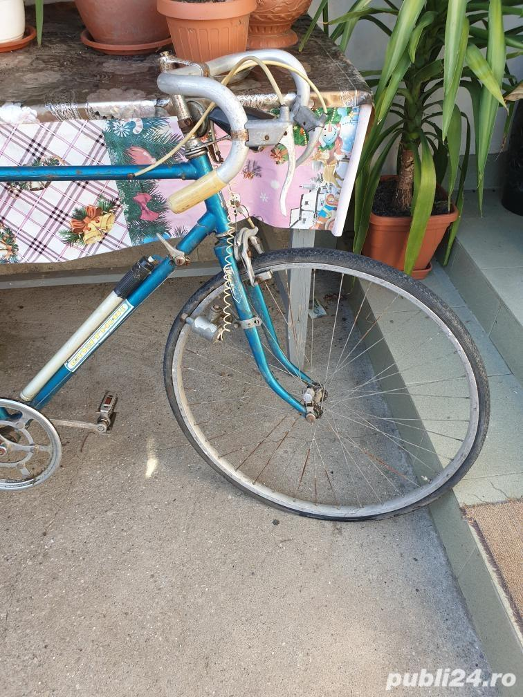 Bicicleta semicursieră Sputnik - de colecție.