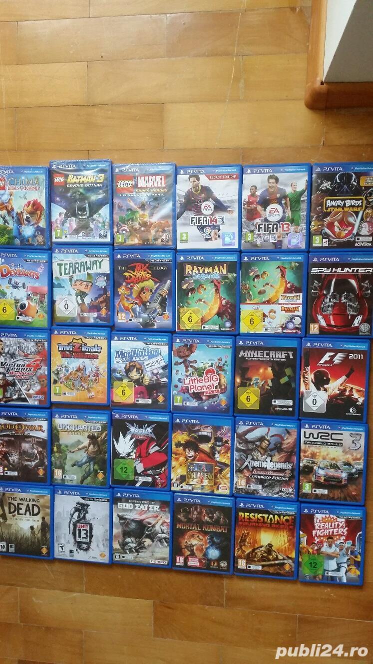 pachet de jocuri playstation, PS VITA ,40 jocuri