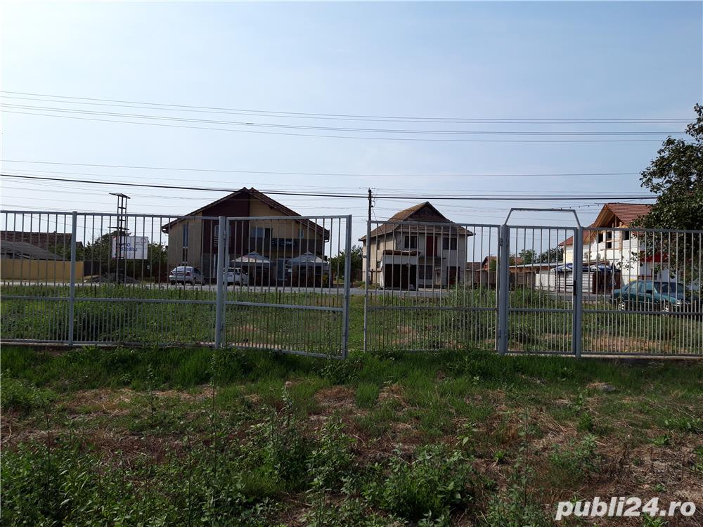 Vând teren intravilan în centru satului Beregsău Mare