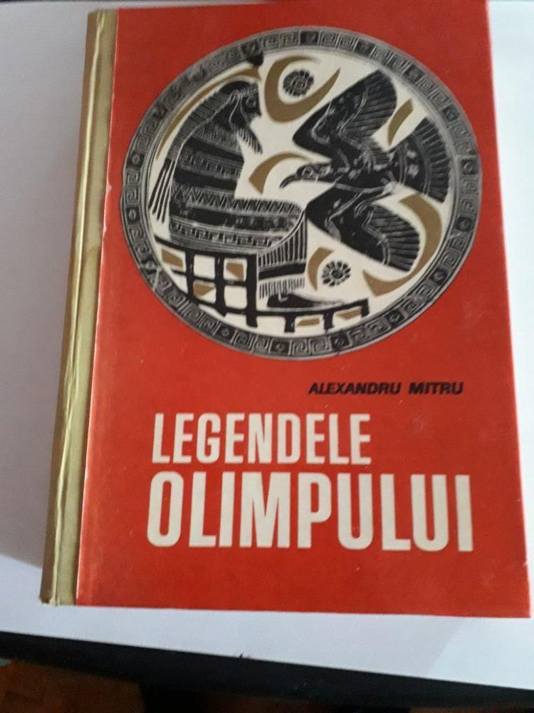 Ofer Legendele Olimpului  tipărită în 1965 în 520 pagini
