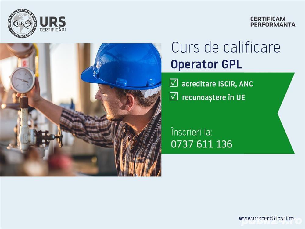 Curs de calificare Operator GPL, județul Brăila