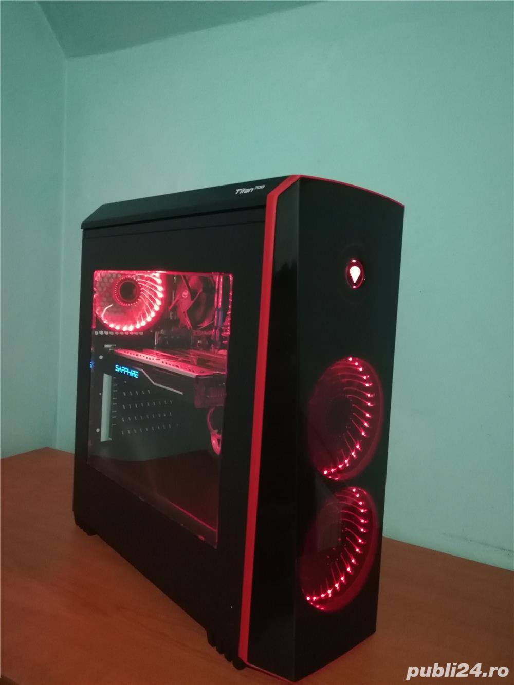 PC Gaming i5, RX 480, 12 GB RAM, SSD